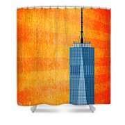 A New Day - World Trade Center One Shower Curtain