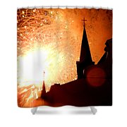 New Orleans St. Louis Cathedral A New Day A New Year In Louiisana Shower Curtain