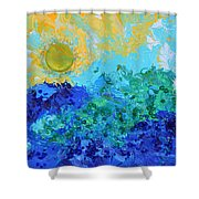 A New Day Full Of Promises Shower Curtain
