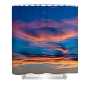 A New Day Starts Shower Curtain
