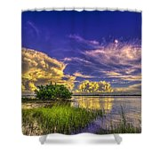 A New Experience Shower Curtain