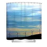 A New Future Shower Curtain