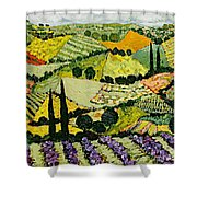 A New Season Shower Curtain