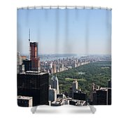 A New Skyscraper In Nyc Skyline Shower Curtain