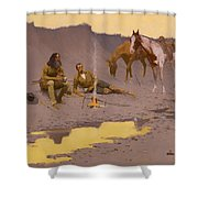 A New Year On The Cimarron  Shower Curtain