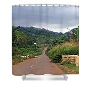 A Nice Nigerian Road Shower Curtain