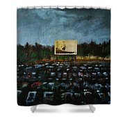 A Night At The Drive In Shower Curtain