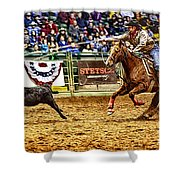 A Night At The Rodeo V10 Shower Curtain