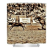 A Night At The Rodeo V11 Shower Curtain