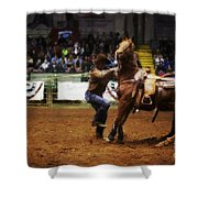 A Night At The Rodeo V13 Shower Curtain