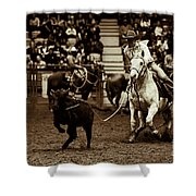 A Night At The Rodeo V14 Shower Curtain