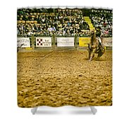 A Night At The Rodeo V15 Shower Curtain