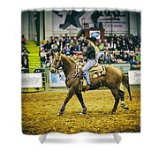 A Night At The Rodeo V17 Shower Curtain