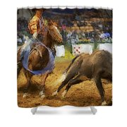 A Night At The Rodeo V18 Shower Curtain