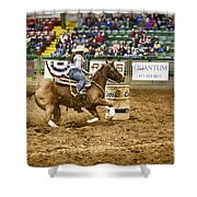 A Night At The Rodeo V20 Shower Curtain