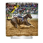 A Night At The Rodeo V21 Shower Curtain