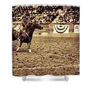 A Night At The Rodeo V22 Shower Curtain