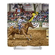 A Night At The Rodeo V27 Shower Curtain