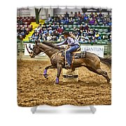 A Night At The Rodeo V28 Shower Curtain