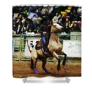 A Night At The Rodeo V29 Shower Curtain