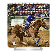 A Night At The Rodeo V30 Shower Curtain