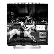 A Night At The Rodeo V33 Shower Curtain
