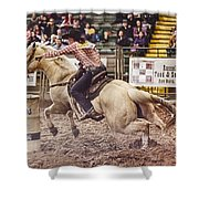 A Night At The Rodeo V34 Shower Curtain