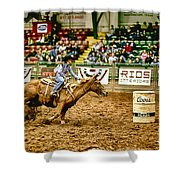 A Night At The Rodeo V35 Shower Curtain