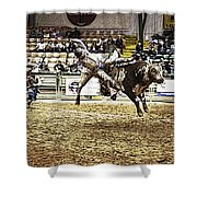 A Night At The Rodeo V36 Shower Curtain