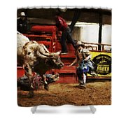 A Night At The Rodeo V38 Shower Curtain