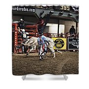 A Night At The Rodeo V39 Shower Curtain