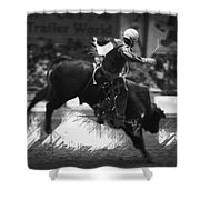 A Night At The Rodeo V4 Shower Curtain