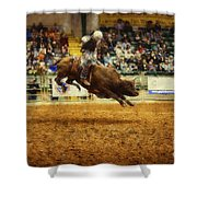 A Night At The Rodeo V7 Shower Curtain