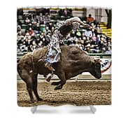 A Night At The Rodeo V8 Shower Curtain