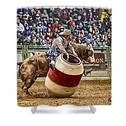 A Night At The Rodeo V9 Shower Curtain