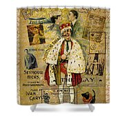 A Night On The Town Christmas Treat Shower Curtain