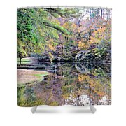 A November Memory 2012 - L Shower Curtain
