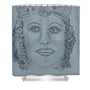 A Nubian Princess Shower Curtain