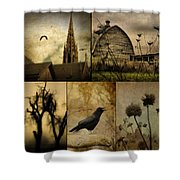 A Page  Shower Curtain