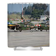 A Pair Of Hellenic Air Force T-2 Shower Curtain