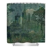A Park In The City Shower Curtain