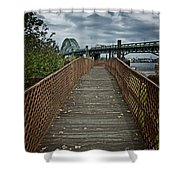 A Pathway To Philadelphia Shower Curtain