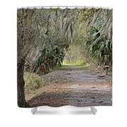 A Peaceful Place Shower Curtain