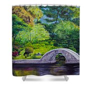 A Peaceful Place In Hiroshima Shower Curtain
