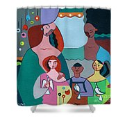 A Peaceful World For Our Children Shower Curtain