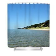 A Perfect Day On The Water Shower Curtain