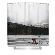 A Perfect Picnic Shower Curtain