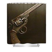 A Pilot's Pistol Shower Curtain
