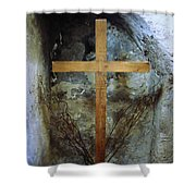 A Place For Prayer Shower Curtain
