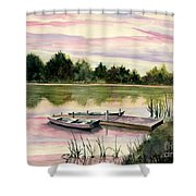 A Place In My Heart Shower Curtain